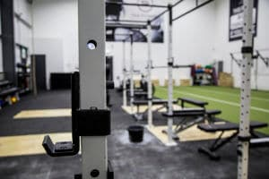 Inside the gym Athboy