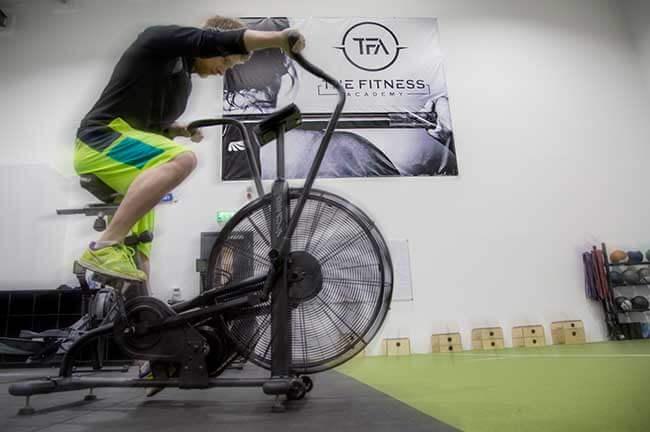 Inside TFA gym bike