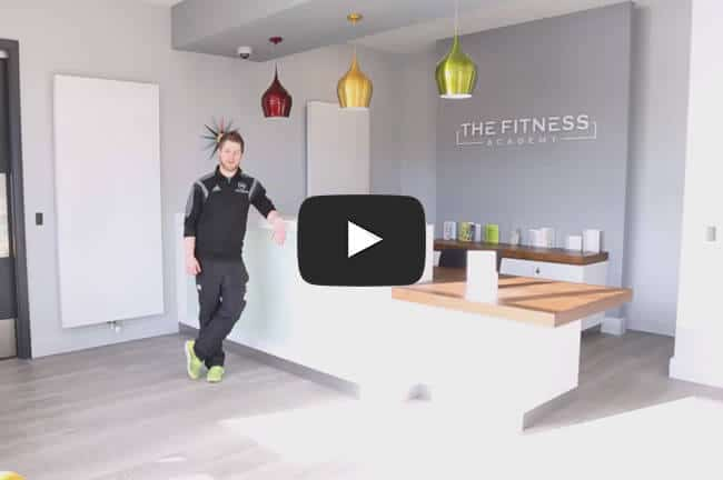 Gavin Gives A Tour Of The Gym. Click To Play.